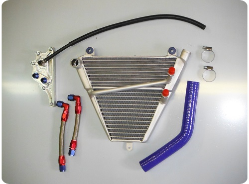 Ducati Panigale 1199 1299 Additinal water/oil radiator